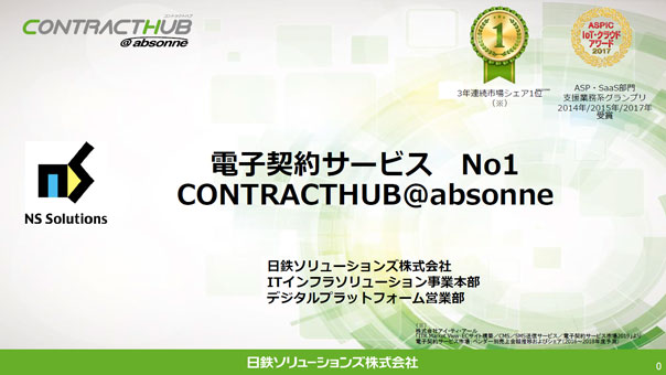 CONTRACTHUB@absonne(資料)